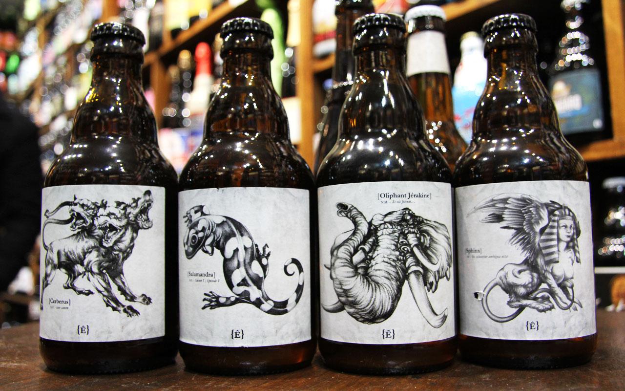 Sehr BestOf 2016 des Etiquettes de Bières Créatives et Inspirantes FK62