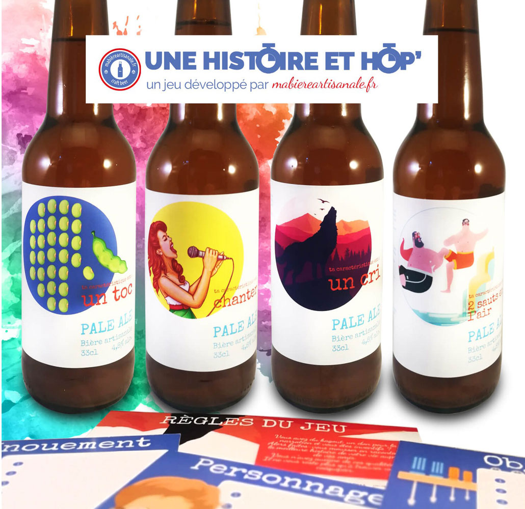 etiquettes jeu societe hitoire biere mabiereartisanale