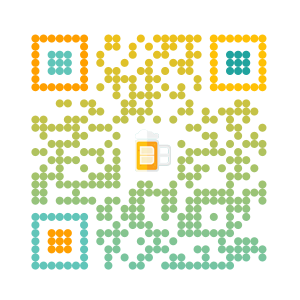 unitag qrcode rond point dot btobeer