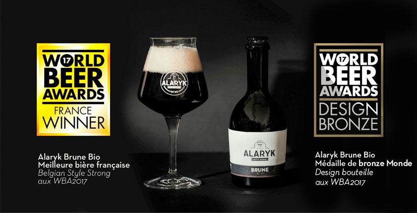 bouteille biere alaryk paris verallia world beer awards
