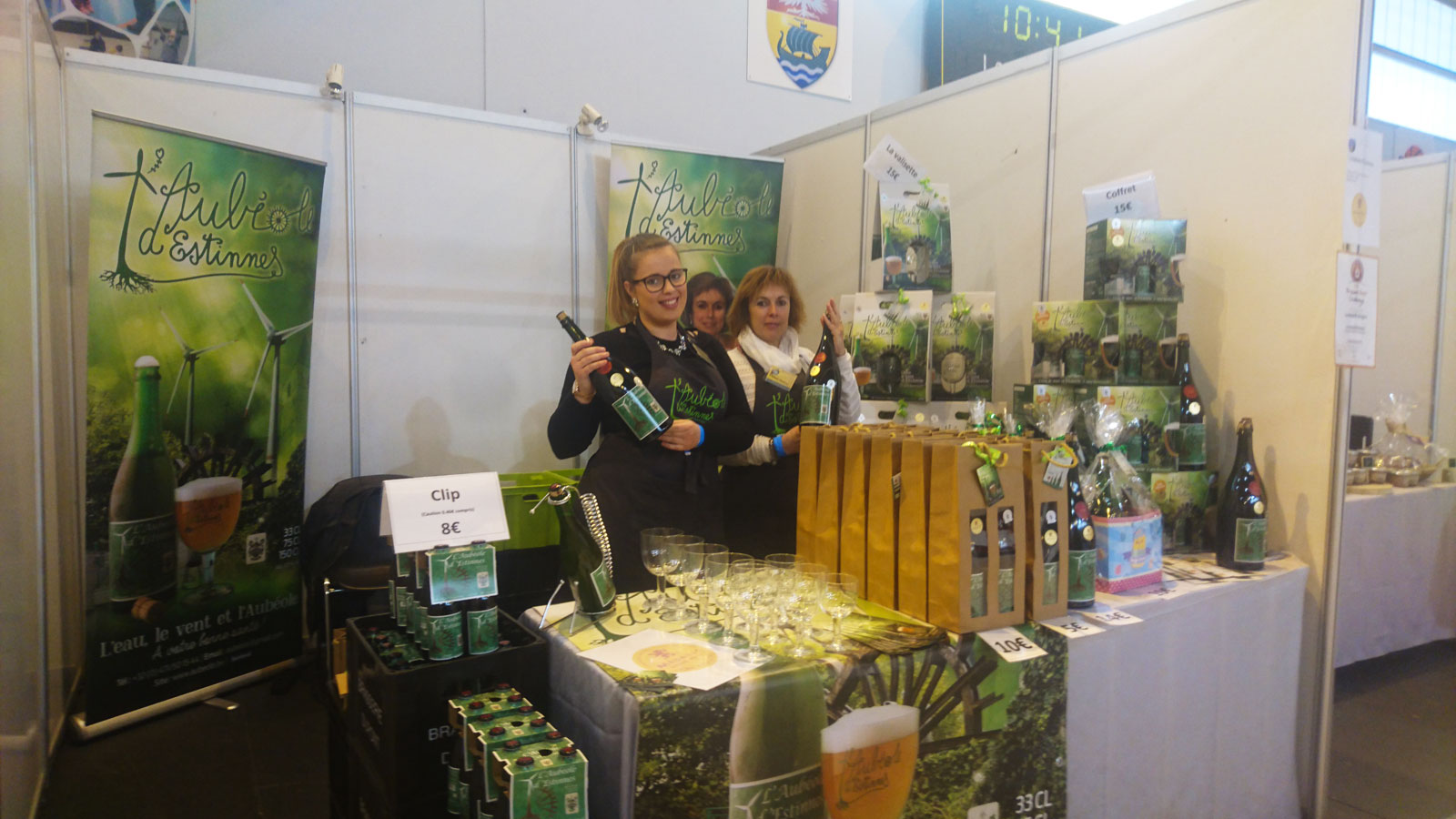 Salon du brasseur 2017 un stand kraft btobeer pour les for Salon du reptile 2017