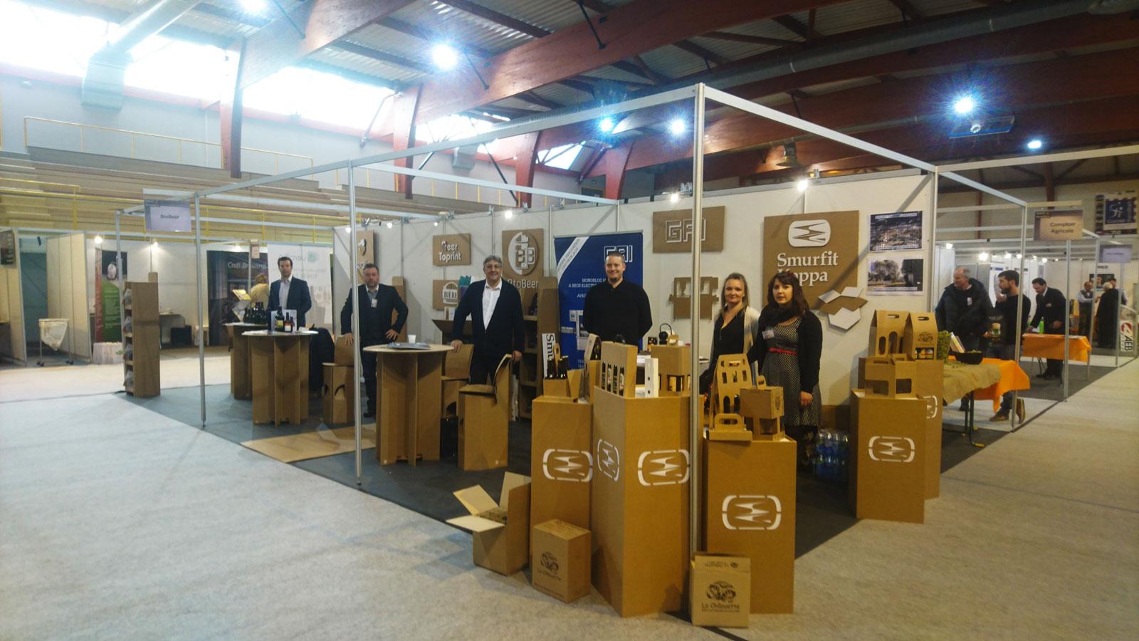 Salon du brasseur 2017 un stand kraft btobeer pour les for Salon industrie paris 2017