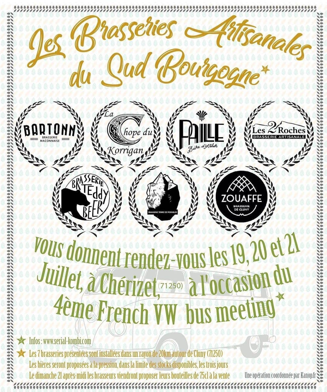 brasseries artisanales sud bourgogne french vw meeting 2019