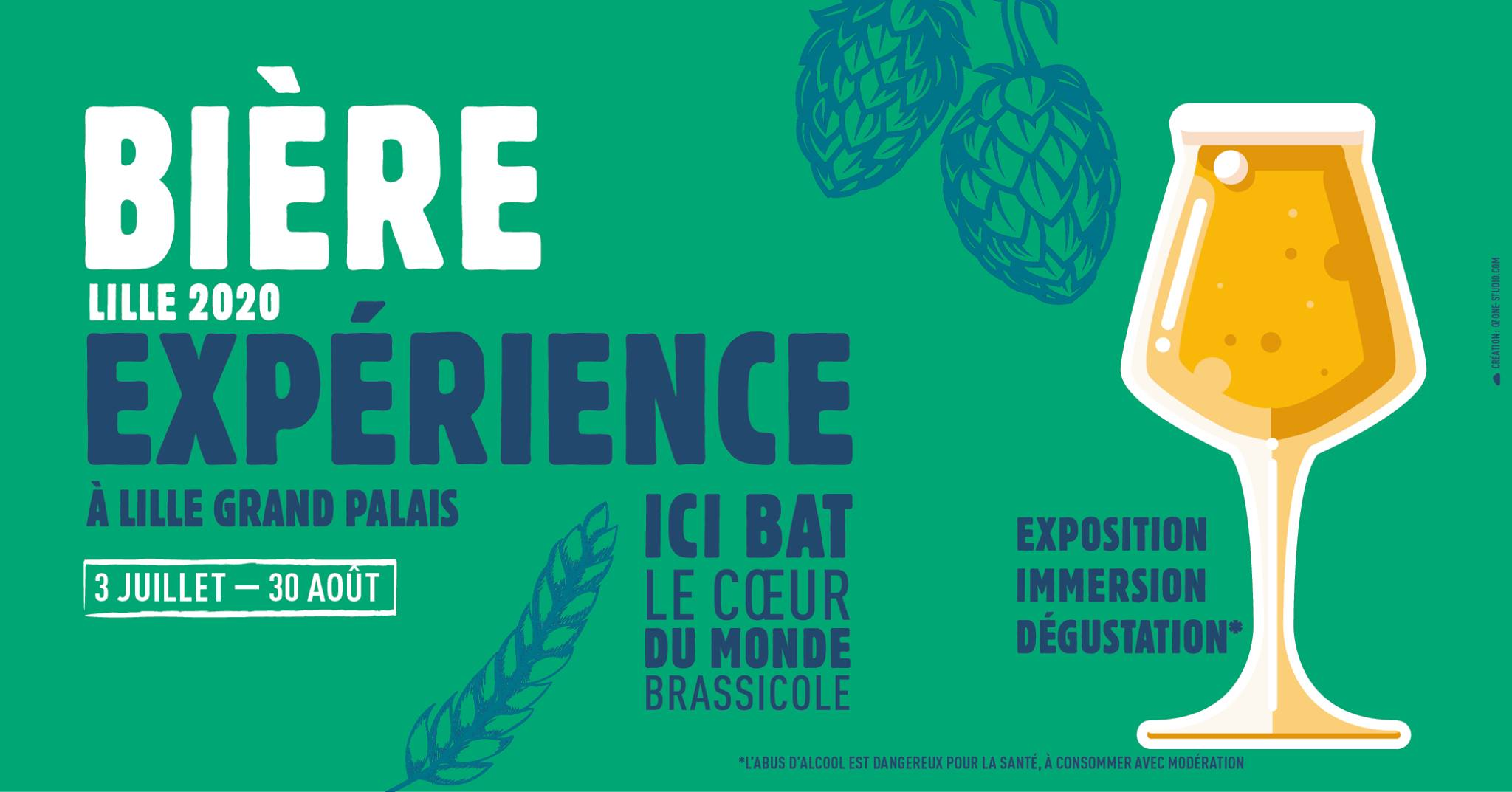 exposition biere experience lille 2020