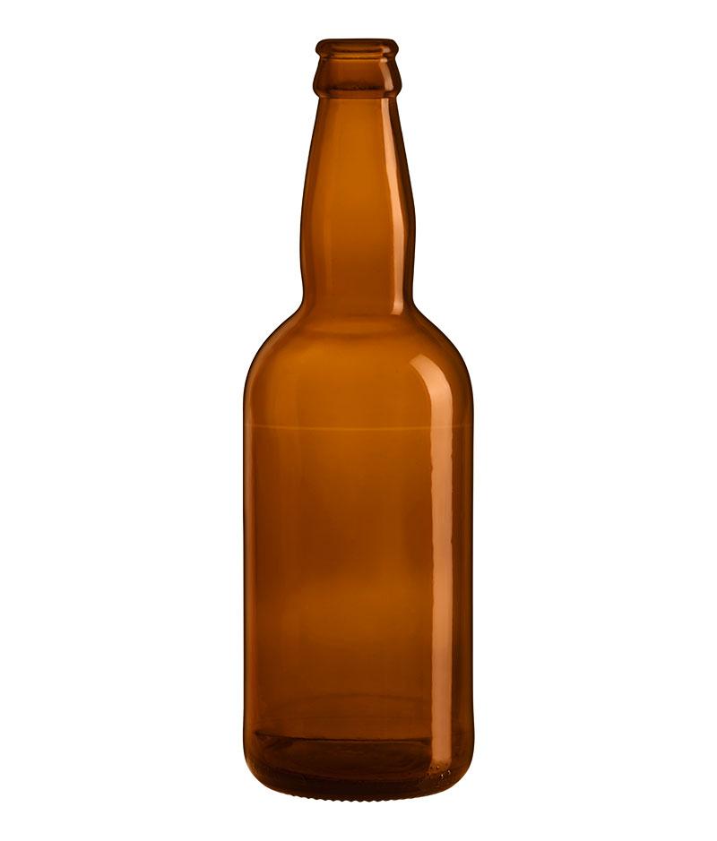Bouteille de bière Premium Ale 50 Cl en verre vide