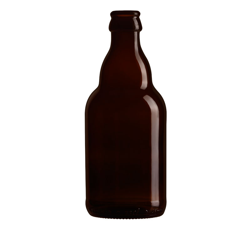 Bouteille en verre Steinie 33 Cl de bière vide