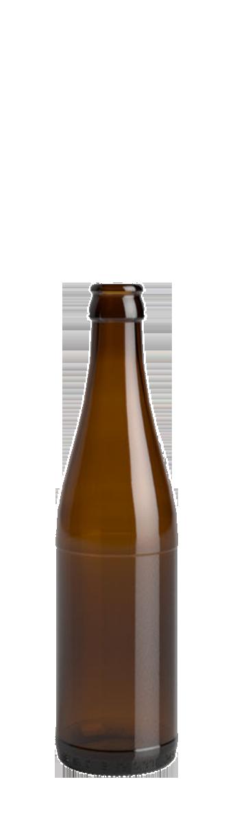 Bouteille de bière Vichy 33cl en verre vide pour la bière