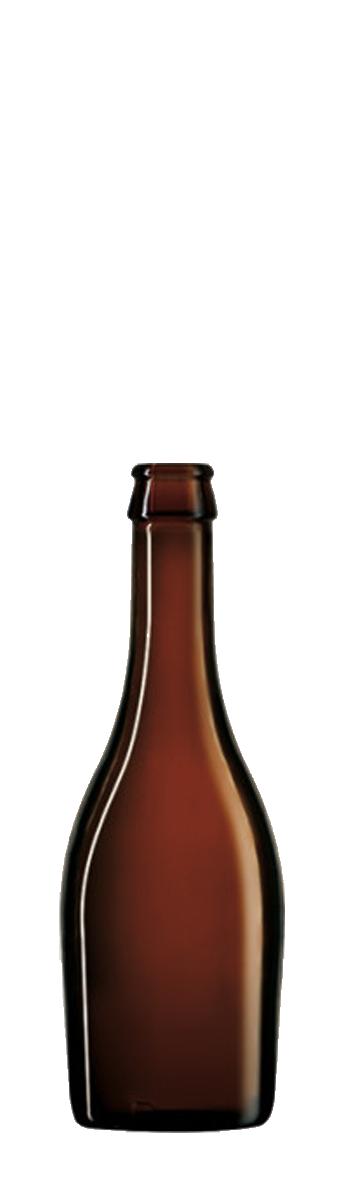 Bouteille de bière Praga 33cl en verre vide pour la bière