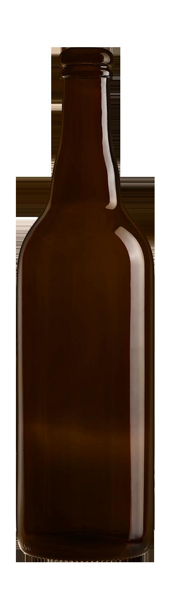 Bouteille Bière 75 Cl bouchon Liège en verre vide
