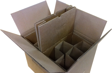 Caisse d'expédition e-commerce