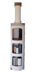 Présentoirs/Display pour bouteilles