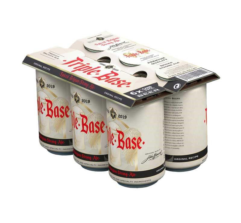 TopClip - Porte canettes multipack 6 bière en carton