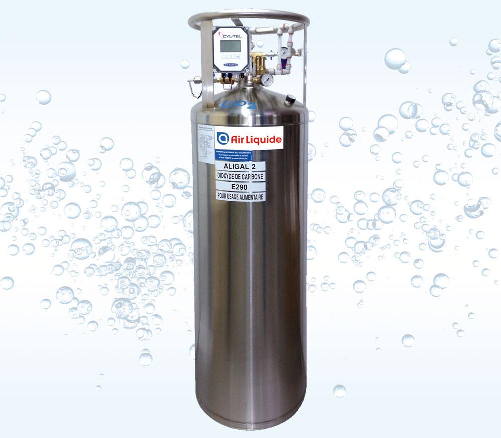 REMBO™ Réservoir de Gaz CO2 Carbonatation Bière 100 300 kg