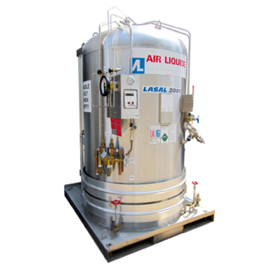 Réservoir REMBO™ 600 -1000 kg Carbonatation Saturation, tirage des Bières