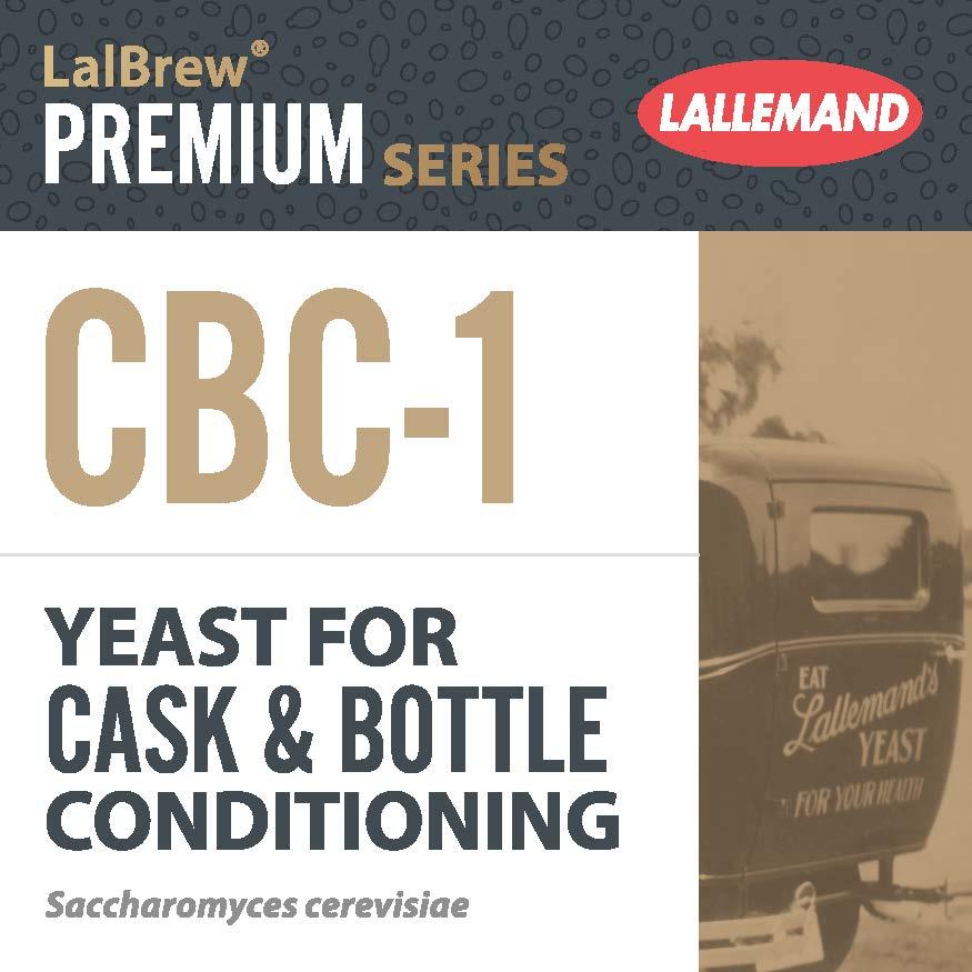 CBC-1 Levure pour conditionnement de bouteilles de Bières