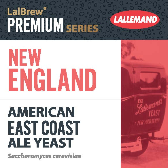 LalBrew New-England, Levure Bières ale type American East coast