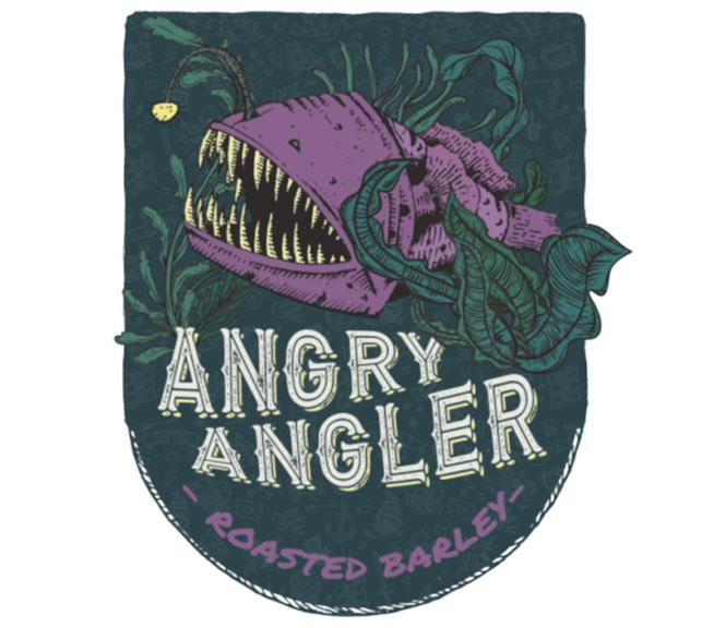 Malt torréfié rôti Angry Angler Roast Barley pour la bière