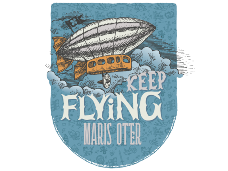 Keep Flying Malt Ales Anglais Paul Maris Otter pour la bière