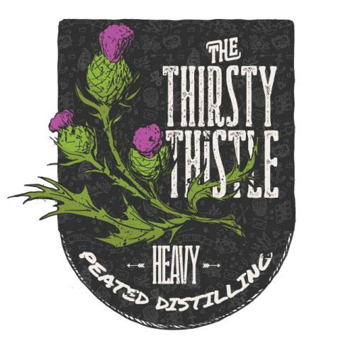Thirsty Thistle - malt tourbé pour bieres et whisky fumés