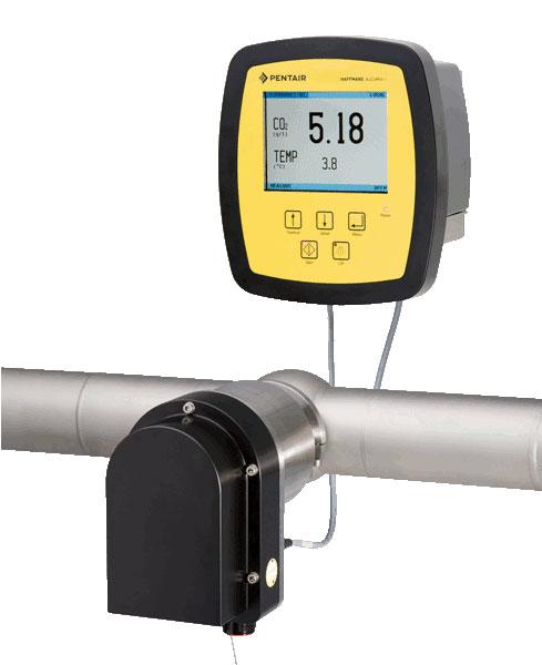 AuCoMet-i CO2 Mètre en ligne